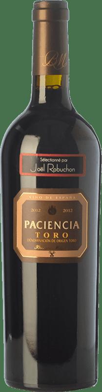 28,95 € Envío gratis | Vino tinto Bernard Magrez Paciencia Crianza D.O. Toro Castilla y León España Tinta de Toro Botella 75 cl