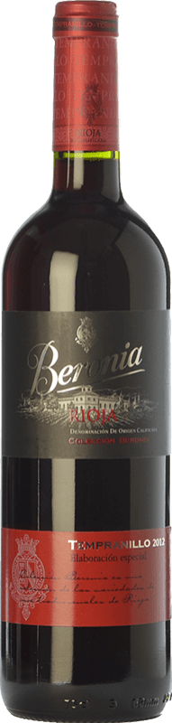 14,95 € Free Shipping | Red wine Beronia Producción Especial Joven D.O.Ca. Rioja The Rioja Spain Tempranillo Bottle 75 cl