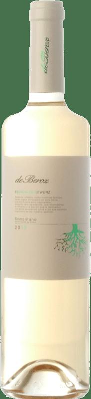 8,95 € Envoi gratuit | Vin blanc Beroz Esencia de D.O. Somontano Aragon Espagne Gewürztraminer Bouteille 75 cl