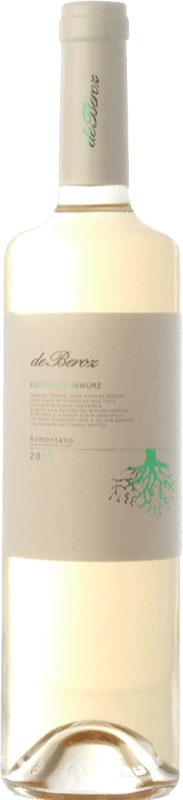 8,95 € Free Shipping | White wine Beroz Esencia de D.O. Somontano Aragon Spain Gewürztraminer Bottle 75 cl