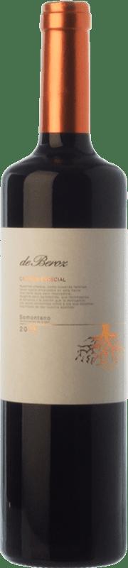 9,95 € Free Shipping | Red wine Beroz Especial Crianza D.O. Somontano Aragon Spain Merlot, Syrah, Cabernet Sauvignon Bottle 75 cl