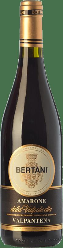 44,95 € Free Shipping | Red wine Bertani Valpantena D.O.C.G. Amarone della Valpolicella Veneto Italy Corvina, Rondinella Bottle 75 cl