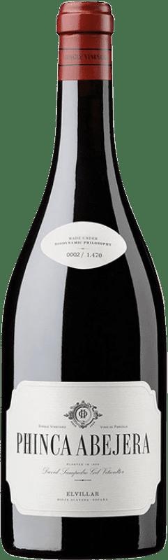 36,95 € Free Shipping | Red wine Bhilar Phinca Abejera Crianza D.O.Ca. Rioja The Rioja Spain Tempranillo, Grenache, Graciano, Viura Bottle 75 cl