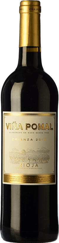 8,95 € 免费送货 | 红酒 Bodegas Bilbaínas Viña Pomal Centenario Crianza D.O.Ca. Rioja 拉里奥哈 西班牙 Tempranillo 瓶子 75 cl