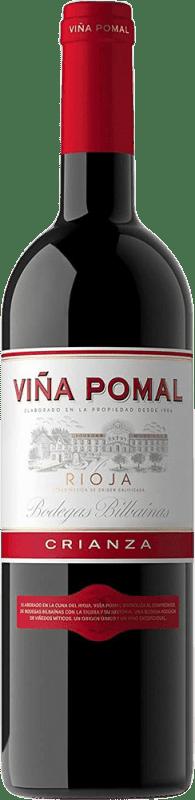 8,95 € Envío gratis | Vino tinto Bodegas Bilbaínas Viña Pomal Centenario Crianza D.O.Ca. Rioja La Rioja España Tempranillo Botella 75 cl