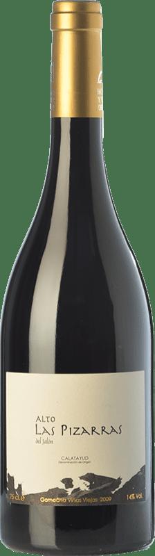 23,95 € Envío gratis | Vino tinto Bodegas del Jalón Alto las Pizarras Crianza D.O. Calatayud Aragón España Garnacha Botella 75 cl