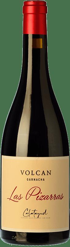 14,95 € Envío gratis | Vino tinto Bodegas del Jalón Las Pizarras Joven D.O. Calatayud Aragón España Garnacha Botella 75 cl
