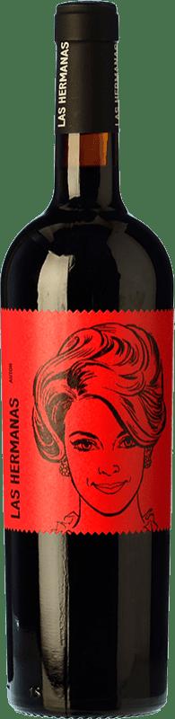 9,95 € 免费送货 | 红酒 Luzón Las Hermanas Autor Crianza D.O. Jumilla 卡斯蒂利亚 - 拉曼恰 西班牙 Tempranillo, Cabernet Sauvignon, Monastrell 瓶子 75 cl