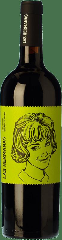 7,95 € Envío gratis | Vino tinto Luzón Las Hermanas Organic Joven D.O. Jumilla Castilla la Mancha España Monastrell Botella 75 cl