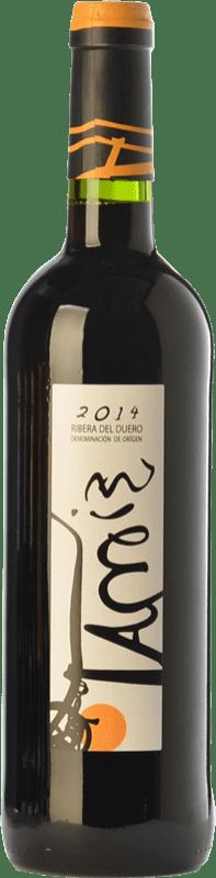 9,95 € Envío gratis | Vino tinto Teófilo Reyes Tamiz Roble D.O. Ribera del Duero Castilla y León España Tempranillo Botella 75 cl