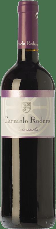 7,95 € Envoi gratuit | Vin rouge Carmelo Rodero Cosecha Joven D.O. Ribera del Duero Castille et Leon Espagne Tempranillo Bouteille 75 cl