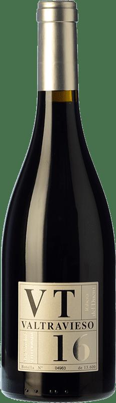 33,95 € Free Shipping | Red wine Valtravieso VT Vendimia Seleccionada Joven D.O. Ribera del Duero Castilla y León Spain Tempranillo, Merlot, Cabernet Sauvignon Bottle 75 cl