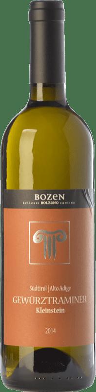 22,95 € Free Shipping | White wine Bolzano Kleinstein D.O.C. Alto Adige Trentino-Alto Adige Italy Gewürztraminer Bottle 75 cl