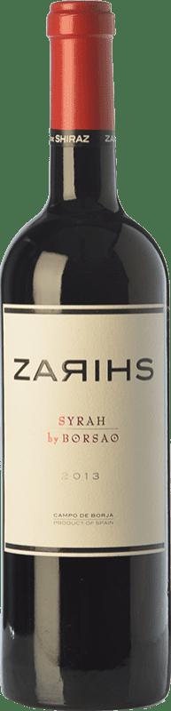 18,95 € Envío gratis | Vino tinto Borsao Zarihs Crianza D.O. Campo de Borja Aragón España Syrah Botella 75 cl