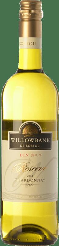 13,95 € 免费送货 | 白酒 Bortoli Willowbank Bin Nº 7 Crianza I.G. Southern Australia 南澳大利亚 澳大利亚 Chardonnay 瓶子 75 cl
