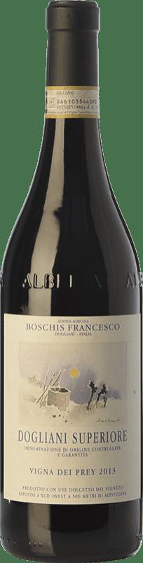 21,95 € Free Shipping | Red wine Boschis Vigna dei Prey D.O.C.G. Dolcetto di Dogliani Superiore Piemonte Italy Dolcetto Bottle 75 cl