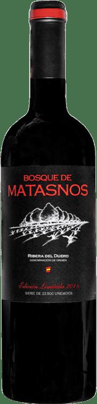 28,95 € Envoi gratuit | Vin rouge Bosque de Matasnos Edición Limitada Reserva D.O. Ribera del Duero Castille et Leon Espagne Tempranillo, Merlot Bouteille 75 cl