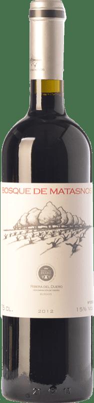 33,95 € Envío gratis | Vino tinto Bosque de Matasnos Crianza D.O. Ribera del Duero Castilla y León España Tempranillo, Merlot Botella 75 cl