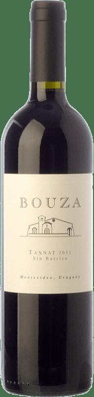 19,95 € Free Shipping | Red wine Bouza Sin Barrica Joven Uruguay Tannat Bottle 75 cl