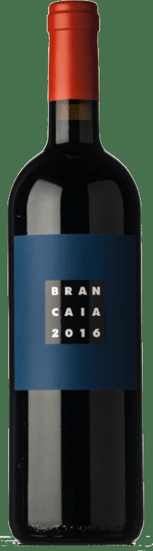 71,95 € 免费送货 | 红酒 Brancaia Il Blu I.G.T. Toscana 托斯卡纳 意大利 Merlot, Cabernet Sauvignon, Sangiovese 瓶子 75 cl
