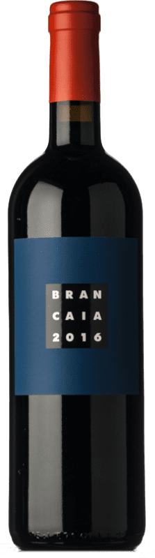 71,95 € Envío gratis | Vino tinto Brancaia Il Blu I.G.T. Toscana Toscana Italia Merlot, Cabernet Sauvignon, Sangiovese Botella 75 cl