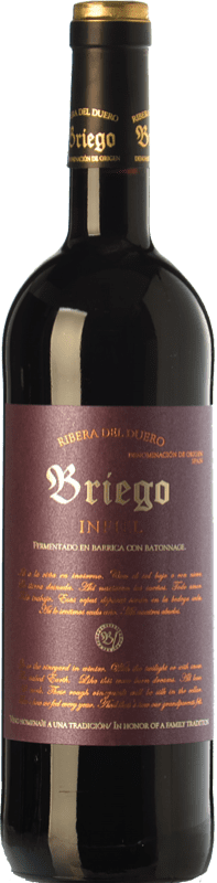 46,95 € Free Shipping | Red wine Briego Infiel Crianza D.O. Ribera del Duero Castilla y León Spain Tempranillo Bottle 75 cl