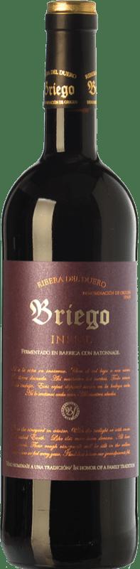 46,95 € Envío gratis | Vino tinto Briego Infiel Crianza D.O. Ribera del Duero Castilla y León España Tempranillo Botella 75 cl