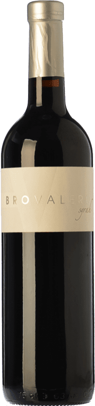 9,95 € Envoi gratuit | Vin rouge Bro Valero Crianza D.O. La Mancha Castilla La Mancha Espagne Syrah Bouteille 75 cl