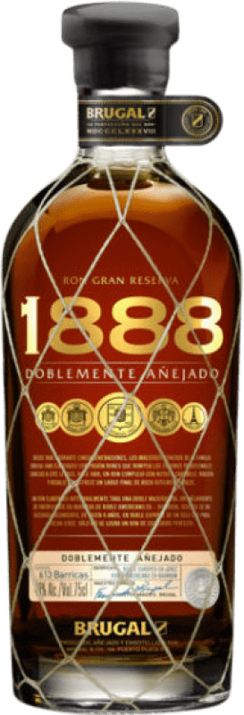 36,95 € | Rum Brugal 1888 Dominican Republic Bottle 70 cl