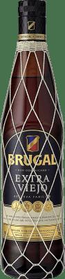 19,95 € Kostenloser Versand | Rum Brugal Extra Viejo Dominikanische Republik Flasche 70 cl