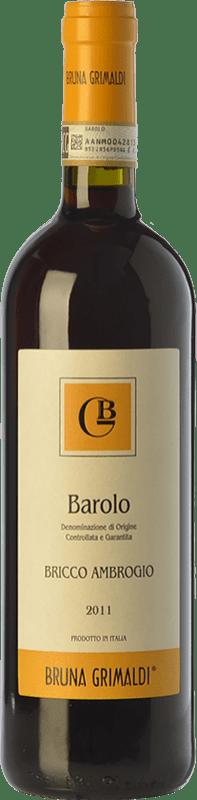 39,95 € 免费送货 | 红酒 Bruna Grimaldi Bricco Ambrogio D.O.C.G. Barolo 皮埃蒙特 意大利 Nebbiolo 瓶子 75 cl