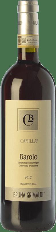 27,95 € Free Shipping | Red wine Bruna Grimaldi Camilla D.O.C.G. Barolo Piemonte Italy Nebbiolo Bottle 75 cl