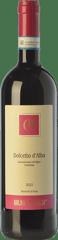 9,95 € 免费送货 | 红酒 Bruna Grimaldi D.O.C.G. Dolcetto d'Alba 皮埃蒙特 意大利 Dolcetto 瓶子 75 cl
