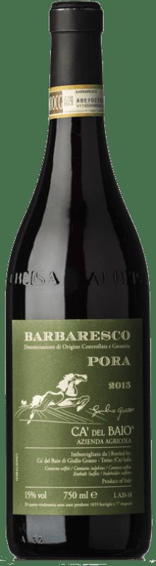 53,95 € Free Shipping   Red wine Cà del Baio Barbaresco Pora Reserva 2008 D.O.C. Piedmont Piemonte Italy Nebbiolo Bottle 75 cl