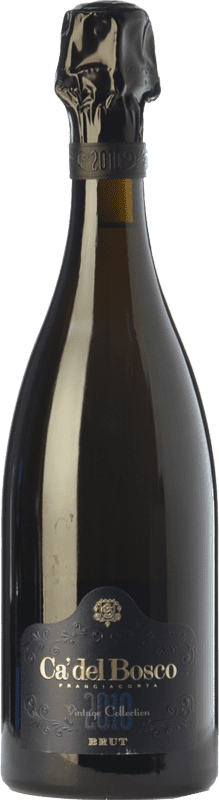 56,95 € | White sparkling Ca' del Bosco Vintage Collection Brut D.O.C.G. Franciacorta Lombardia Italy Pinot Black, Chardonnay, Pinot White Bottle 75 cl