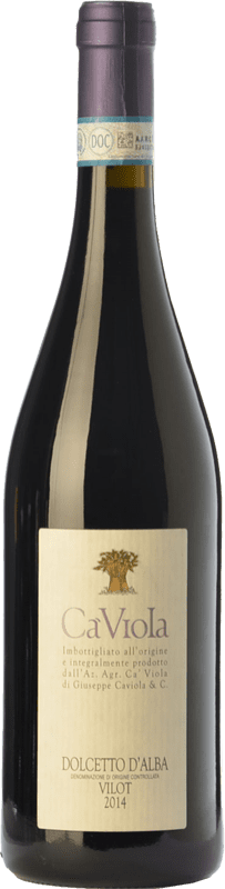 9,95 € Free Shipping | Red wine Ca' Viola Vilot D.O.C.G. Dolcetto d'Alba Piemonte Italy Dolcetto Bottle 75 cl