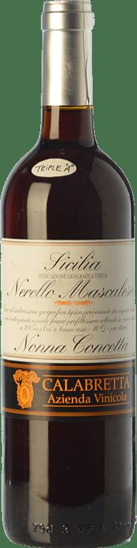 41,95 € Free Shipping | Red wine Calabretta Nonna Concetta I.G.T. Terre Siciliane Sicily Italy Nerello Mascalese Bottle 75 cl
