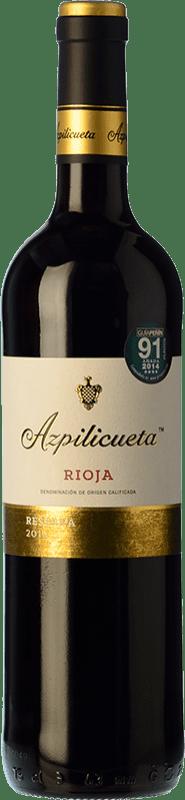 32,95 € Envío gratis | Vino tinto Campo Viejo Azpilicueta Reserva D.O.Ca. Rioja La Rioja España Tempranillo, Graciano, Mazuelo Botella Mágnum 1,5 L