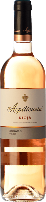 8,95 € 免费送货 | 玫瑰酒 Campo Viejo Azpilicueta D.O.Ca. Rioja 拉里奥哈 西班牙 Tempranillo, Viura 瓶子 75 cl