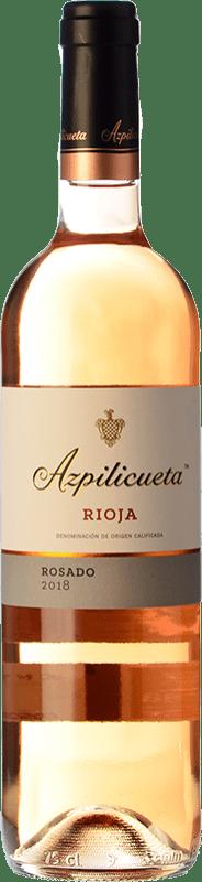 8,95 € Spedizione Gratuita | Vino rosato Campo Viejo Azpilicueta D.O.Ca. Rioja La Rioja Spagna Tempranillo, Viura Bottiglia 75 cl
