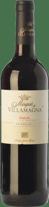 8,95 € | Red wine Campo Viejo Marqués de Villamagna Crianza D.O.Ca. Rioja The Rioja Spain Tempranillo Bottle 75 cl