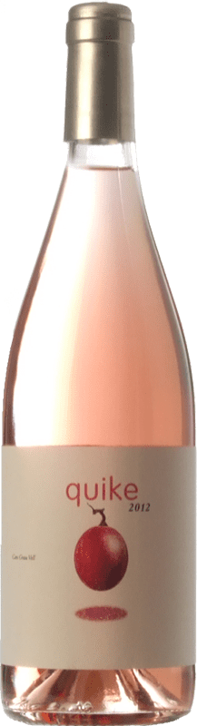 12,95 € | Rosé wine Can Grau Vell Quike D.O. Catalunya Catalonia Spain Grenache Bottle 75 cl
