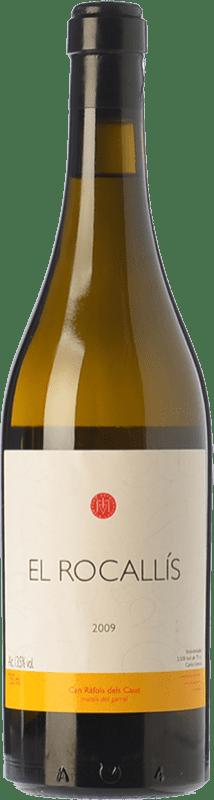 37,95 € Free Shipping | White wine Can Ràfols El Rocallís Crianza D.O. Penedès Catalonia Spain Incroccio Manzoni Bottle 75 cl