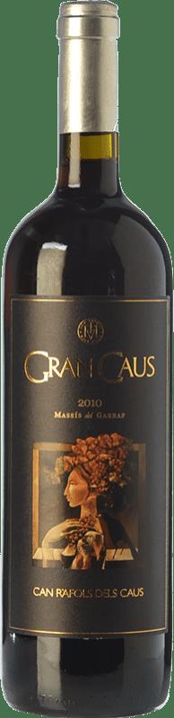 24,95 € Free Shipping | Red wine Can Ràfols Gran Caus Crianza D.O. Penedès Catalonia Spain Merlot, Cabernet Sauvignon, Cabernet Franc Bottle 75 cl