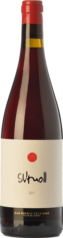 19,95 € Free Shipping | Red wine Can Ràfols Joven D.O. Penedès Catalonia Spain Sumoll Bottle 75 cl