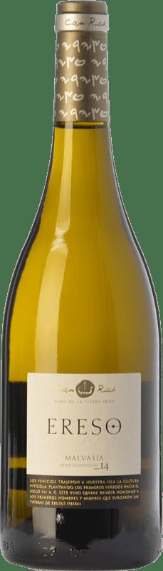 13,95 € | White wine Can Rich Ereso Crianza I.G.P. Vi de la Terra de Ibiza Balearic Islands Spain Chardonnay Bottle 75 cl