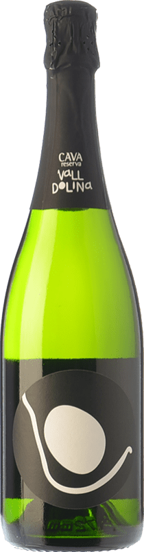 11,95 € Free Shipping | White sparkling Can Tutusaus Vall Dolina Brut Nature Reserva D.O. Cava Catalonia Spain Macabeo, Xarel·lo, Chardonnay, Parellada Bottle 75 cl