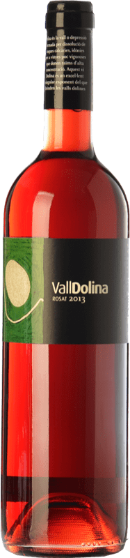 8,95 € | Rosé wine Can Tutusaus Vall Dolina Rosat D.O. Penedès Catalonia Spain Merlot Bottle 75 cl