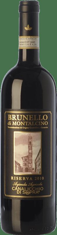 111,95 € Free Shipping | Red wine Canalicchio di Sopra Riserva Reserva 2010 D.O.C.G. Brunello di Montalcino Tuscany Italy Sangiovese Bottle 75 cl