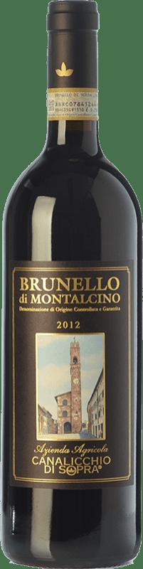 61,95 € Free Shipping | Red wine Canalicchio di Sopra D.O.C.G. Brunello di Montalcino Tuscany Italy Sangiovese Bottle 75 cl